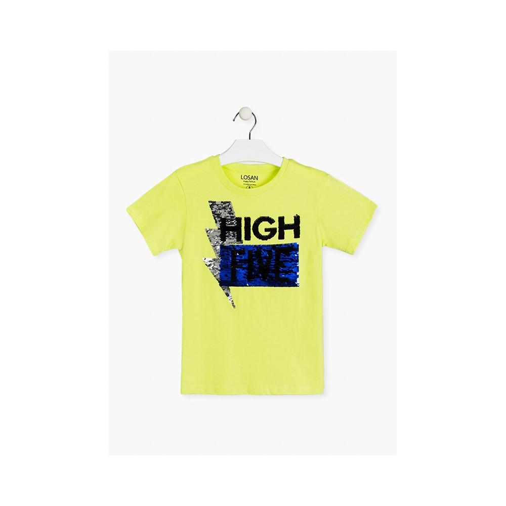 Camiseta Losan niño High Five manga corta