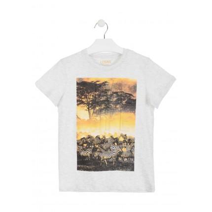 Camiseta Losan niño Life manga corta