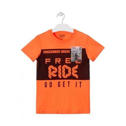 Camiseta Losan niño Free Ride manga corta