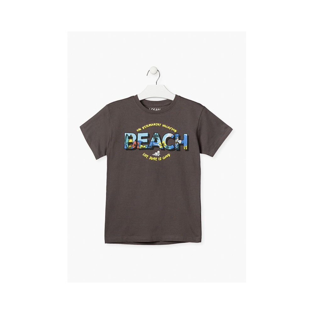 Camiseta Losan niño Beach manga corta
