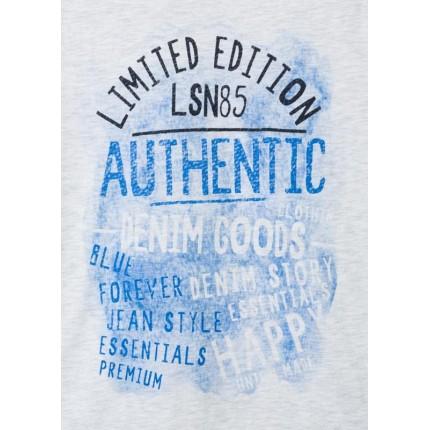 Detalle estampado Camiseta Losan niño Limited Edition manga corta