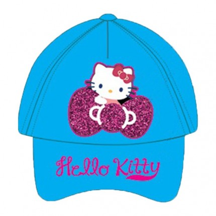 Gorra Hello Kitty Brillante niña visera