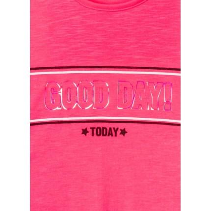 Detalle estampado Camiseta Losan niña junior Good day!
