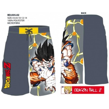 Bañador Dragon Ball Z niño bermuda Goku