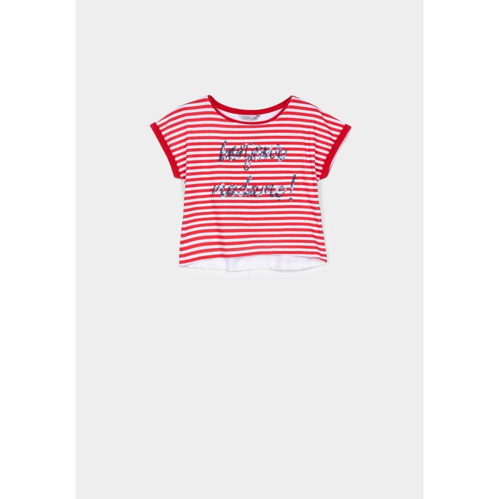 Camiseta Tiffosi Kids Mami niña Rojo