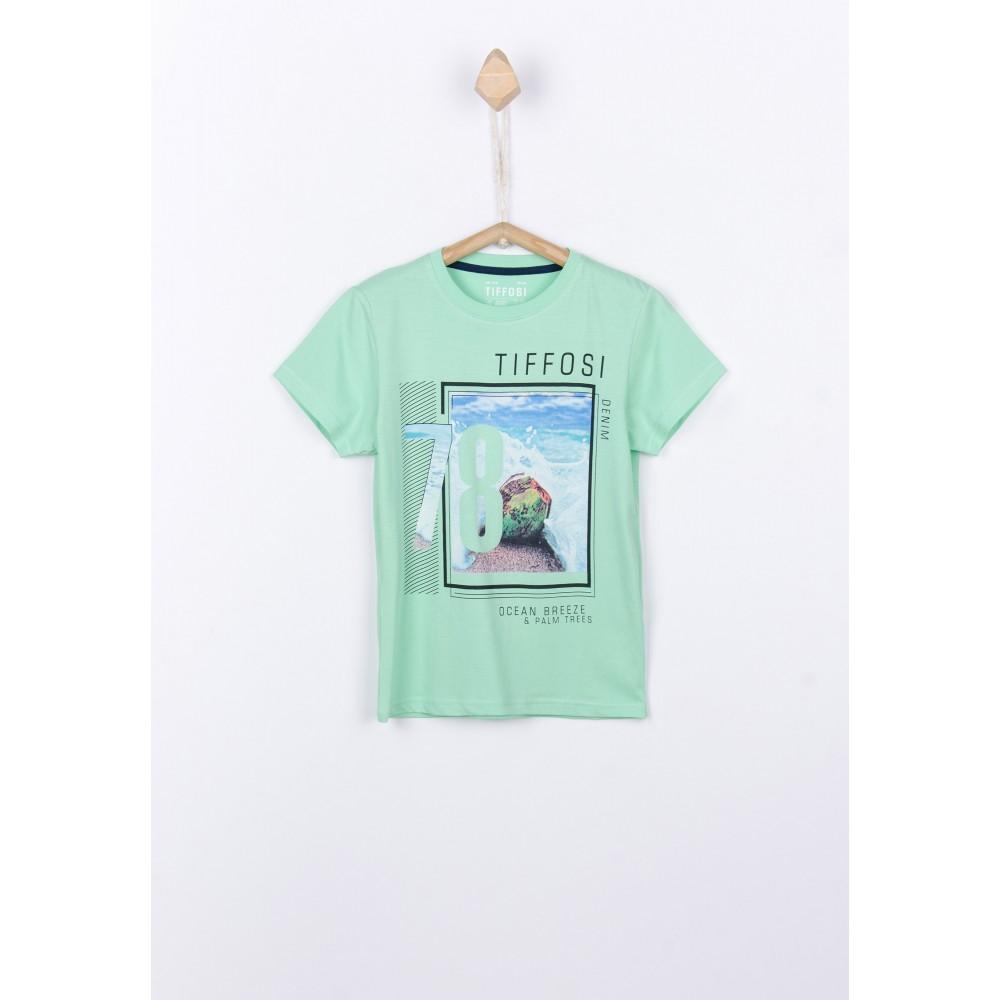 Camiseta Tiffosi Kids Donald niño Verde