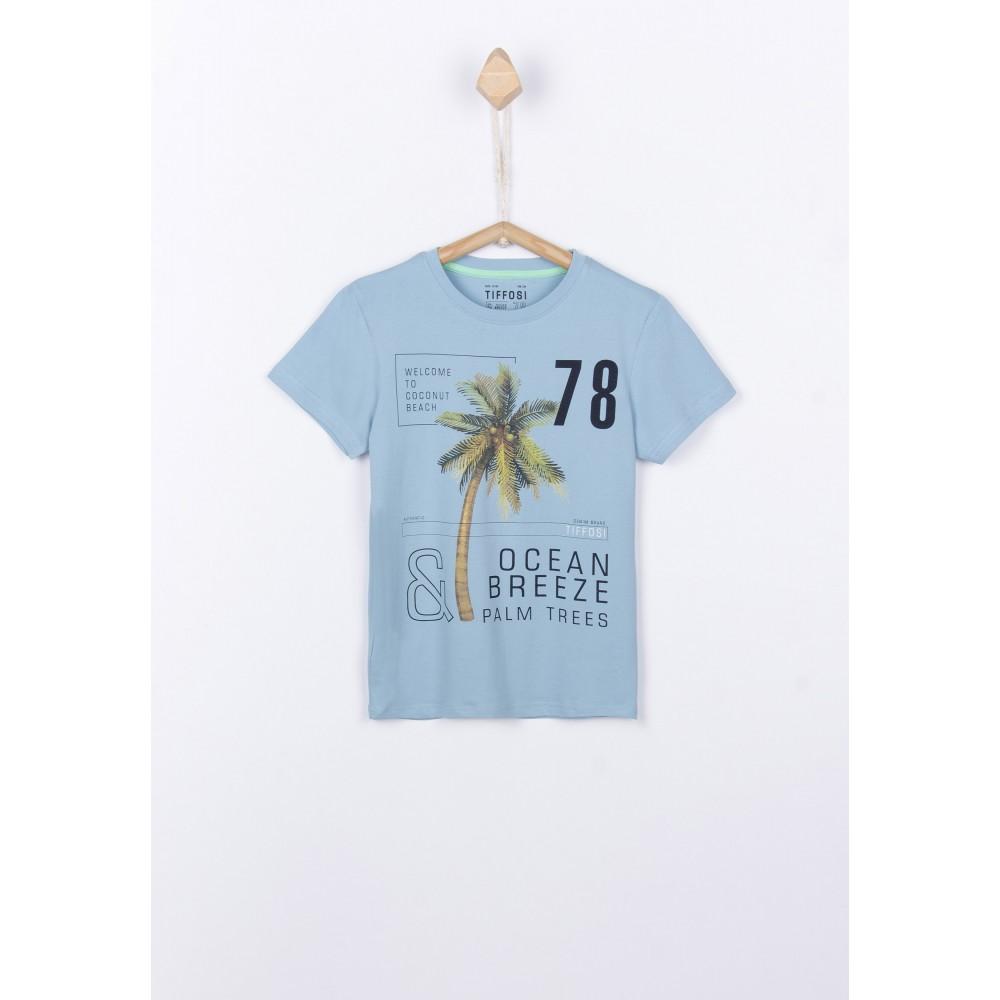 Camiseta Tiffosi Kids Donald niño Azul estratosfera