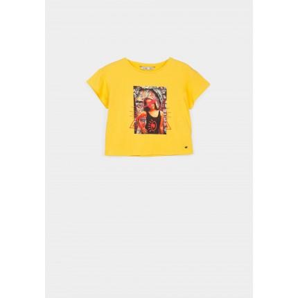 Camiseta Tiffosi Kids Audrey niña Amarilla