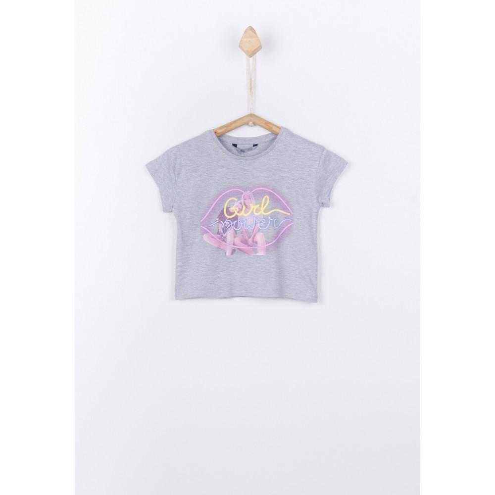 Camiseta Tiffosi Kids Audrey niña Gris vigore