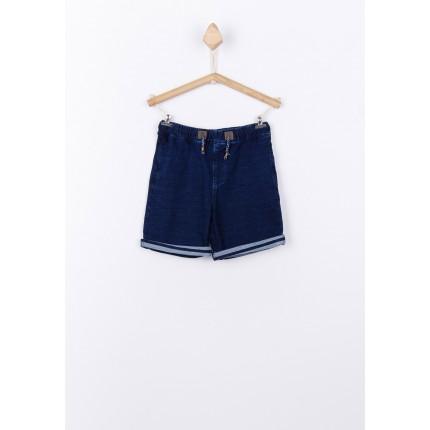 Bermuda Jeans Tiffosi Kids Beckham niño cordón