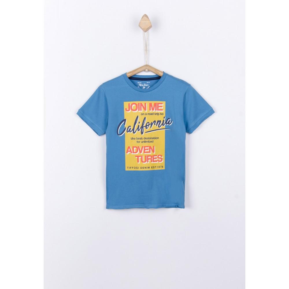 Camiseta Tiffosi Kids Ferraz niño manga corta