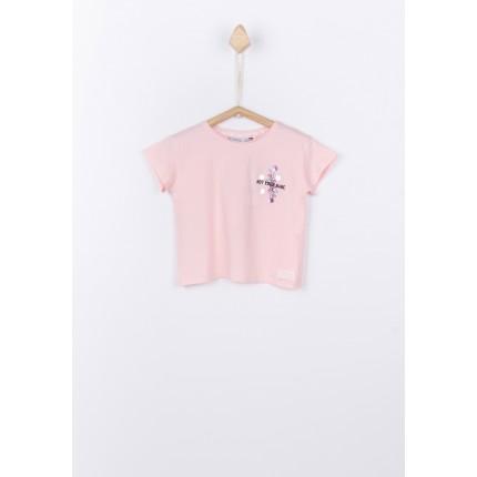 Camiseta Tiffosi Kids Kelly niña manga corta