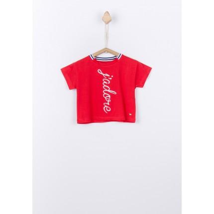 Camiseta Tiffosi Kids Alexandria niña manga corta