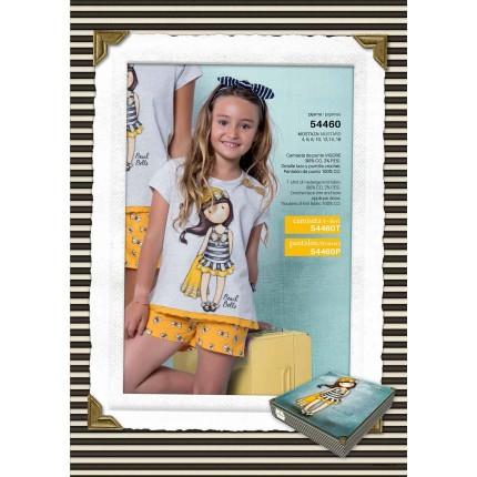 Pijama Gorjuss niña Santoro Beach Belle manga corta