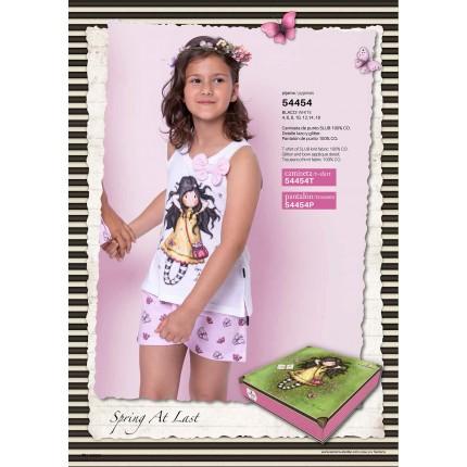 Pijama Gorjuss niña Santoro Spring At Last tirantes