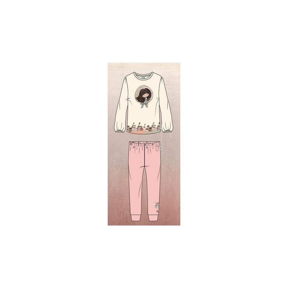 Pijama Anekke niña interlock manga larga