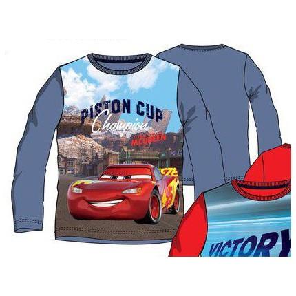Camiseta Cars niño manga larga Gris