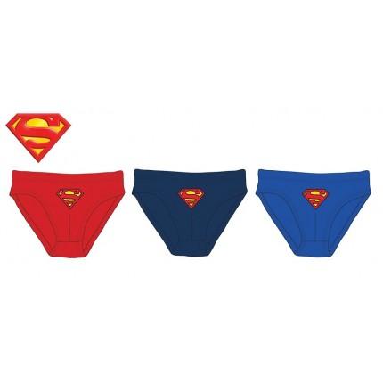 Slips Superman niño Escudo pack de 3