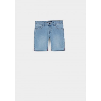 Bermuda Denim Tiffosi Kids Joe_32 niño junior lavado C10