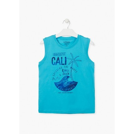 Camiseta Losan niño junior Cali sin mangas