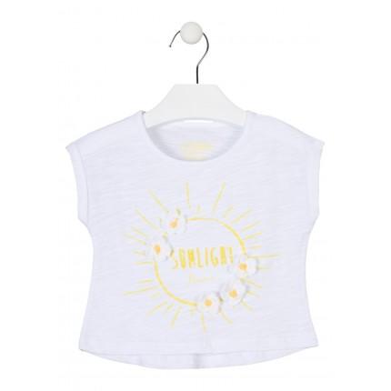 Camiseta Losan Kids niña infantil Sunlight manga corta