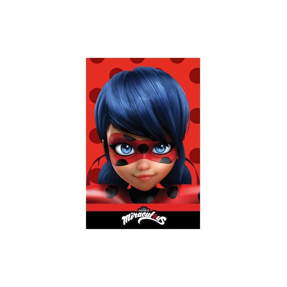 Manta Lady bug niña Miraculous