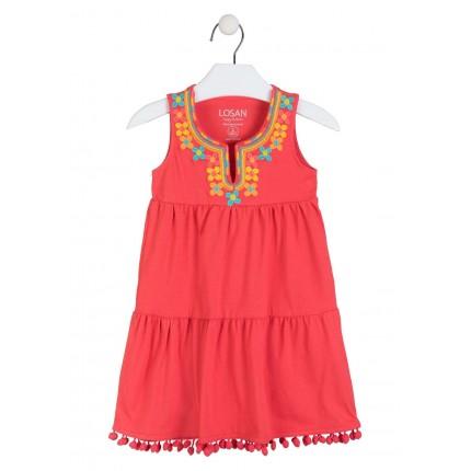 Vestido Losan Kids niña infantil Étnico sin mangas