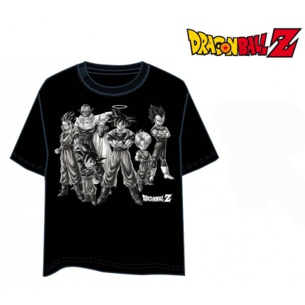 Camiseta Dragon Ball Z Heroes manga corta
