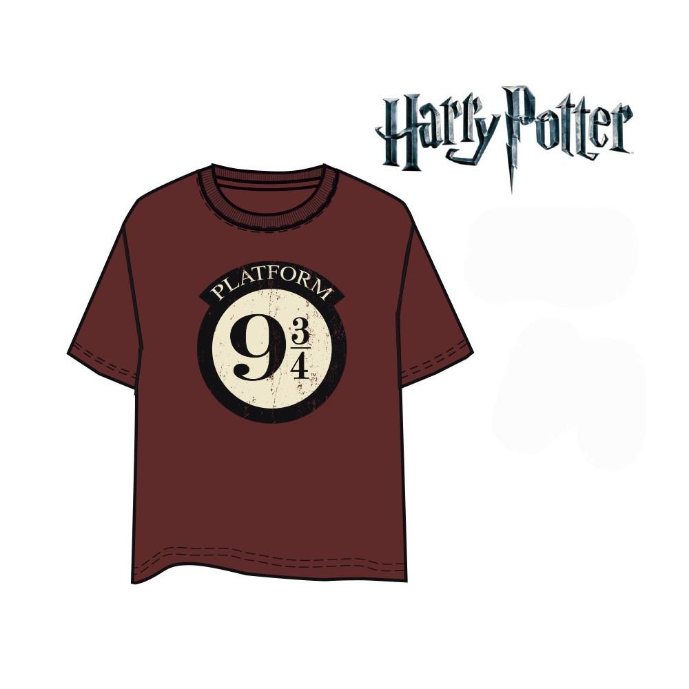 Camiseta Harry Potter Anden 9 3/4 manga corta