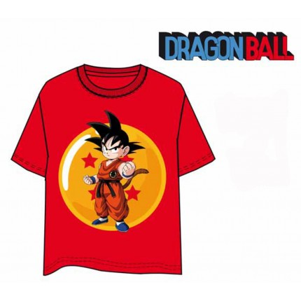 Camiseta Dragon Ball Goku niño junior manga corta