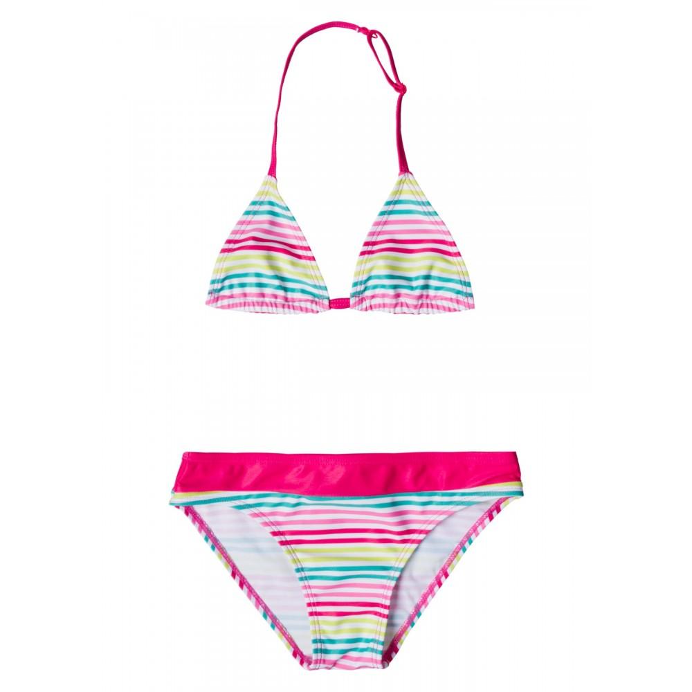 Bikini Losan niña junior triángulos rayas