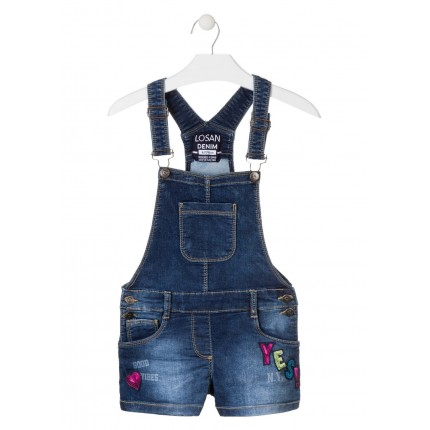 Peto Denim Losan niña junior Yes! short