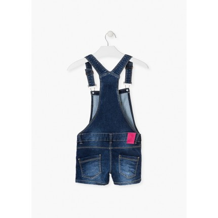 Espalda Peto Denim Losan niña junior Yes! short