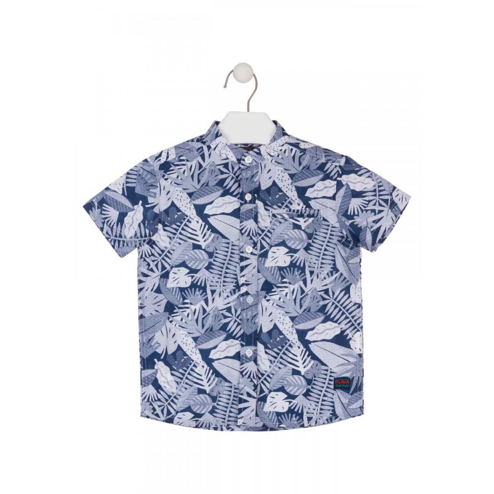 Camisa Losan kids niño infantil Tropicool manga corta