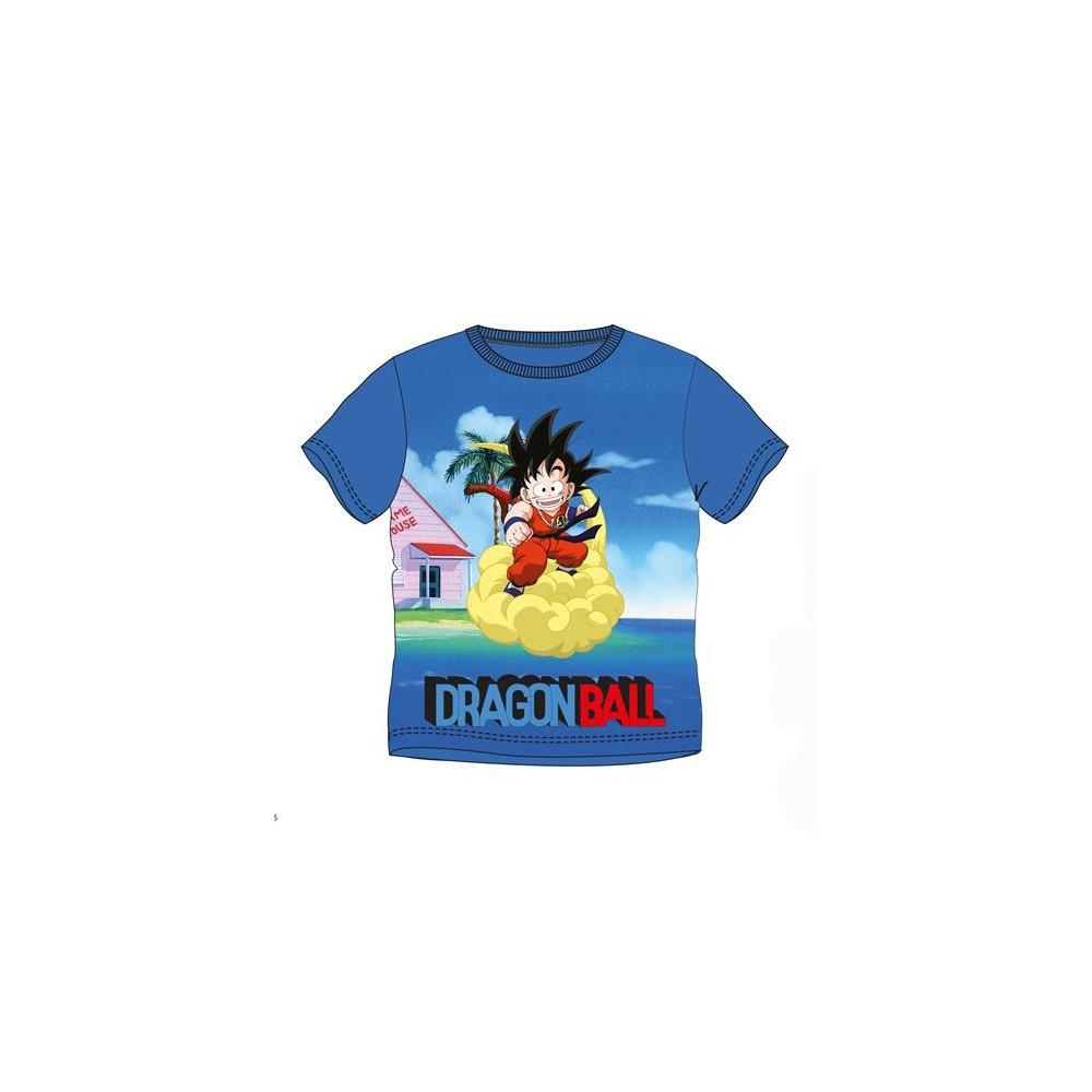 Camiseta Dragon Ball niño Nube Kinto manga corta