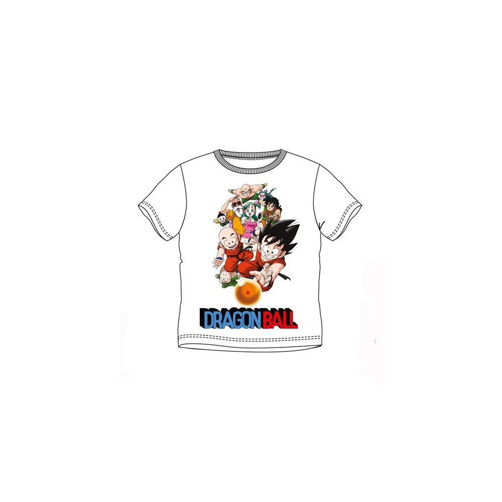Camiseta Dragon Ball Bola de drac niño manga corta