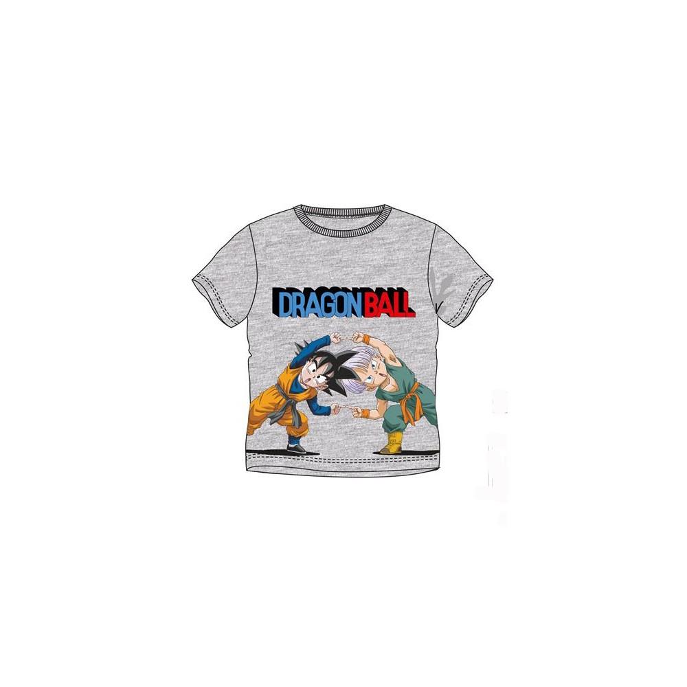 Camiseta Dragon Ball niño Son Goten y Trunks manga corta