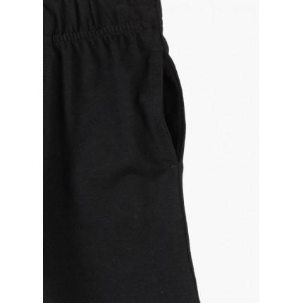 Detalle bolsillo Bermuda Losan junior Básica niño con cordón Negro