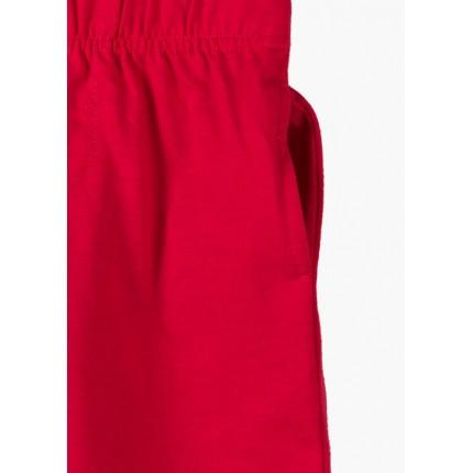 Detalle bolsillo Bermuda básica Losan Kids niño infantil con cordón Rojo