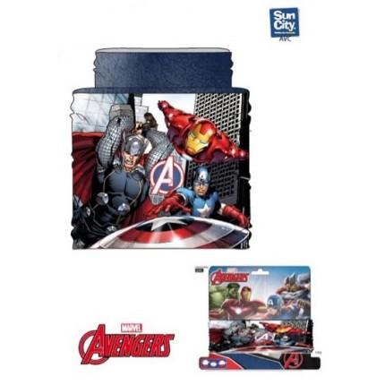 Buff de cuello Avengers Marvel coralina