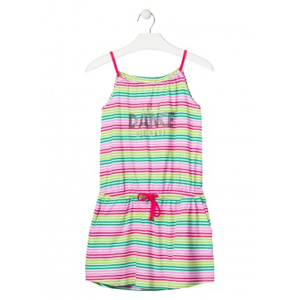 Vestido Losan niña junior Let's Dance All Day! tirantes