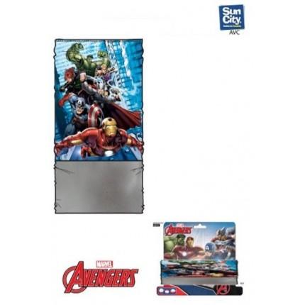 Buff de cuello Avengers Marvel cinco posiciones coralina