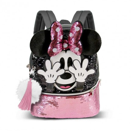 Shy-Mochila Minnie Mouse Bouquet (pequeña)