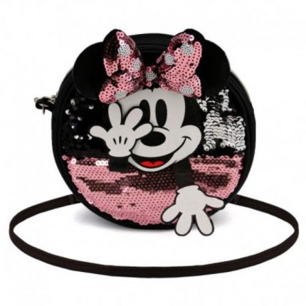 Bolso Minnie Mouse Redondo Shy-pequeño