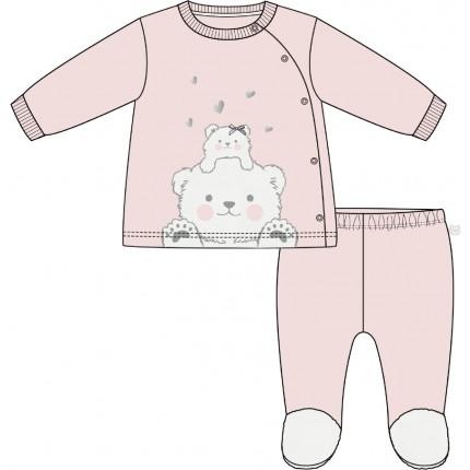 Conjunto Losan Bebe Newborn Ositos