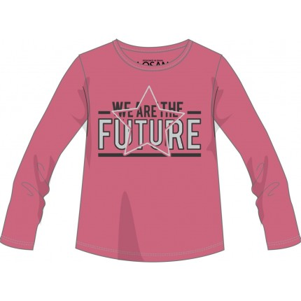 Camiseta Losan niña junior We are the Future manga larga