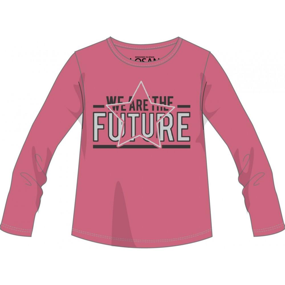 Camiseta Losan niña junior We are the Future manga larga