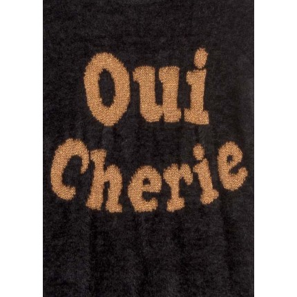 Detalle estampado Jersey Losan niña junior Oui Chérie