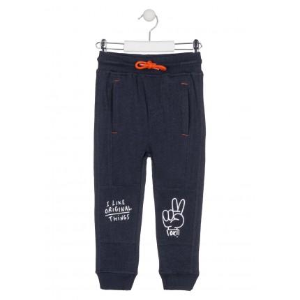 Pantalón Jogging Losan Kids niño infantil Good Vibes