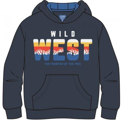 Sudadera Losan Kids niño Wild West intantil capucha canguro